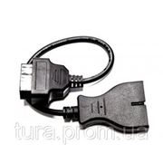 OBD2 кабель-переходник GM12 DAEWOO OBD2 16-пин на OBD1 12-пин купить в Украине фото