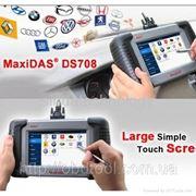 MaxiDas DS708 — AUTEL MAXI DAS — Мультибрендовый автосканер нового поколения фото