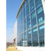Алюминивые фасады и окна фото