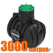Подземный резервуар РПУ-3000 (пластиковый) фото