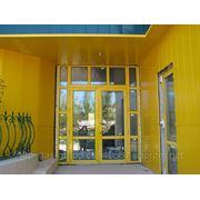 Профиль алюминиевый для окон и дверей фото