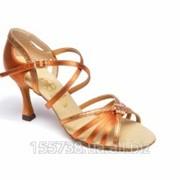 Обувь для танцев, женская латина, модель 729 фото