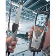 Testo 435-4 (с сенсором дифдавления, памятью и программой для ПК) фото