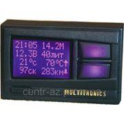 Маршрутный бортовой компьютер Multitronics Comfort Х11 (голос) для ВАЗ 2110 вместо часов, цветной экран фото