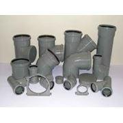 Трубы канализационные ПВХ фото