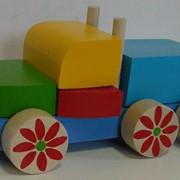 Конструктор деревянный Авто 523019 170х90х100 фото