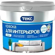 Краска Текс Профи интерьерная, супербелая, 4,5 л фото