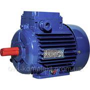 Электродвигатель АИР 63 А2, АИР63А2, 0,37 кВт 3000 об/мин фото