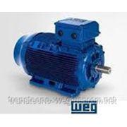 Асинхронный двигатель на лапах 4,0кВт 1500 об/мин. 220/380В фото