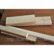 Лежак для саун (брус, полок, трапик) ольховый 80х25х2800 мм. Купить в Виннице фото