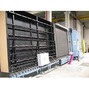 Стеклопакетная линия Lisec 2500 Х 3500 с газ прессом и роботом герметизации фото