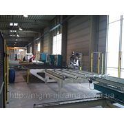 Сварочно-зачистная линия KMW A4PH-3828-2,0 фото
