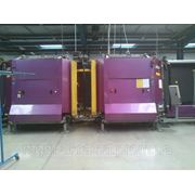Стеклопакетная линия Lisec 1600 X 4000 с газовым тандемным прессом и роботом герметизации. фото