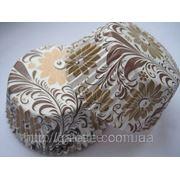 """Форма для маффинов """"бронзовые цветы""""(код 00444) фото"""