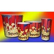 Стакан для попкорна фото