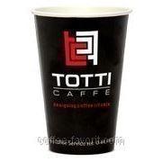 Стакан бумажный TOTTI Caffe 300 мл