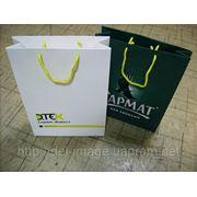 Пакеты бумажные с логотипом
