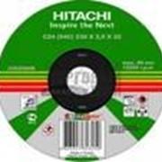 Круг отрезной по металлу HITACHI фото