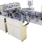 Линия для производства сотового ПК,ПП,ПЭ (поликарбонатный) лист T2~10 фото