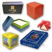 Изготовление картонной упаковки (печенное, чаи, канцелярия и т. д. )