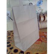 Бумажные пакеты с ручками в Днепропетровске. Нанесение лого на бумажные пакеты. фото