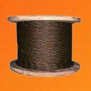 Канат стальной двойной свивки ТК 6×37 ГОСТ 3071-80 фото