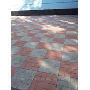 Плитка тротуарная 40х40 фото