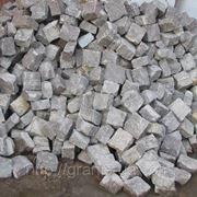 Камень брусчатый колотый 80*80*80 мм фото
