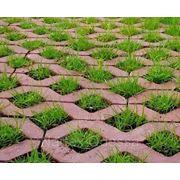 Вибропрессованная тротуарная плитка (Решетка) фото