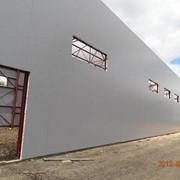 Металлоконструкции в Новосибирске, склады, ангары, теминалы фото
