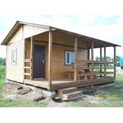 Домик дачный деревянный перевозимый фото