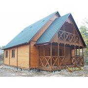 Каркасный деревяный котедж 6м х8м (перевозимый)