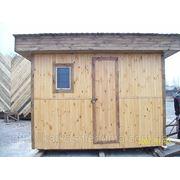 Сторожка - каркасный дачный домик (2м х 3м)
