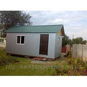 Каркасный дачный домик (3м х 6м)