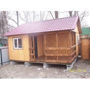 Каркасный дачный деревянный дом, перевозимый