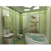 Роспись стен ванной фото