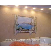 Роспись стен в квартире фото