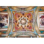 Орнаментальная роспись потолков фото