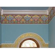 Роспись стен, орнаменты фото