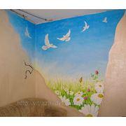 Роспись стен. декор детских комнат фото
