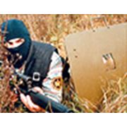 щит бронированный Переносной стрелковый ПСЩ Щиты для бойцов фото