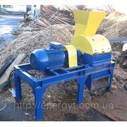 Дробарка молоткова для подрібнення деревини ДРМ-1500 фото