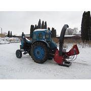 Рубальна машина навісна на трактор фото