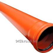 Труба НПВХ SN4 ДУ110х3,2 L-3м