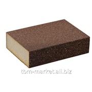 Блок шлифовальный зерно P36/60 98x69x26мм Артикул SLG1130/36.60 фото