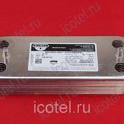 Теплообменник вторичный Viessmann Vitopend 100 WH1B 12 пластин 17B1901200 фото