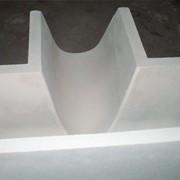 Изделия формованные огнеупорные - сегмент желоба фото