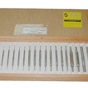 Калибры гладкие для отверстий КГО-0,45-6,0 (Комплект № 10) фото
