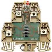 Клемма соединительная (проходная) Klemsan с электронными компонентами серии WG-EKI фото