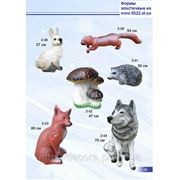 Фигуры животных, статуи животных, скульптуры животных, формы для гипса и бетона фото